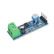 MH-ET LIVE LM386 модуль усилителя мощности звука 200 увеличение времени Плата усилителя подойдет как для повседневной носки, так усилитель мощности 5 V-12 V Вход