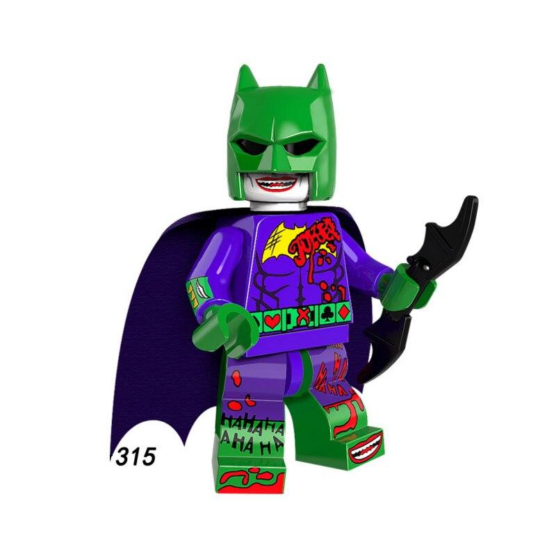 Single Sale Super Heroes Star Wars 315 Clown Batman Mini Building Blocks Figure Bricks Toys Kids Gifts Compatible Legoed Ninjaed Blocks