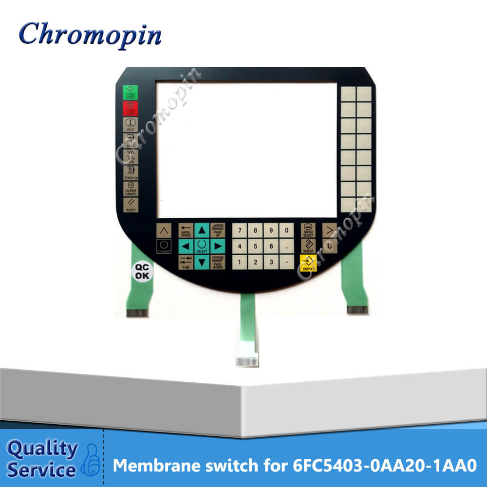 Membrane switch for 6FC5403-0AA20-1AA0 6FC5 403-0AA20-1AA0 6FC5403-0AA20-0AA0 6FC5 403-0AA20-0AA0 Sinumerik HT8 touch screen for 6fc5403 0aa20 0aa0 sinumerik ht8 fast delivery
