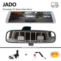JADO D820S Car Dvr Stream Rear View Mirror Camera 10 IPS Touch Screen Full HD 1080P