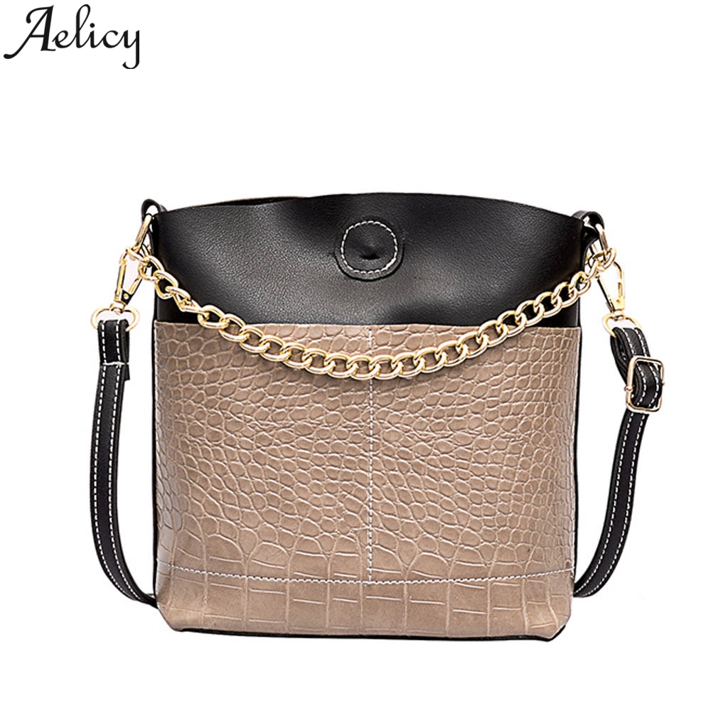 Aelicy Crocodile Pattern Crossbody Bags For Women 2019 Luxury Handbags Women Bags Designer Brand FamousAelicy Crocodile Pattern Crossbody Bags For Women 2019 Luxury Handbags Women Bags Designer Brand Famous
