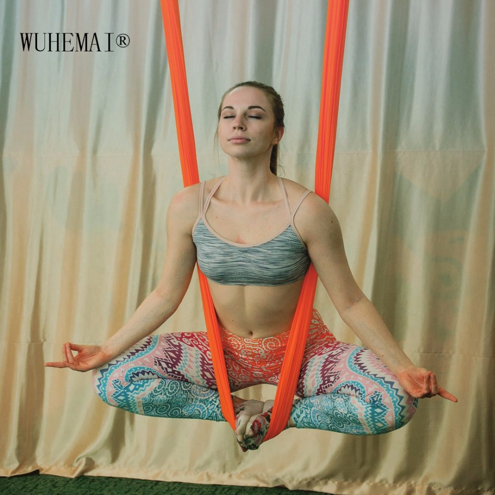Anti-gravity aerea yoga amaca altalena Set Completo Aerea Dispositivo di Trazione per Il Fitness per yoga per yoga studio di yoga di Volo altalena 5x2.8 m