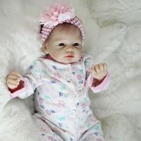 Otarddolls Bebe Reborn Dolls 2255cm soft Vinyl Silicone reborn baby doll Cute Girl Toys boneca For Children Birthday Gift