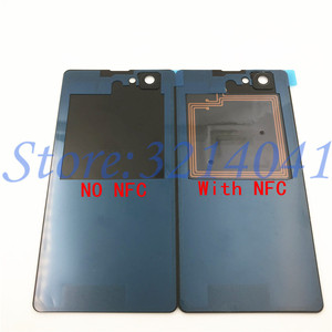 Image 3 - Original Front Middle Frame Port Plug Cover Back Battery Cover For Sony Xperia Z1 Compact mini D5503 Full Housing
