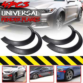 New Universal Car Wide For Fender Flares Wheel Arches Extension 4Piece For BENZ W205 W204 W203 For BMW F32 F33 F36 E90 E92 E93