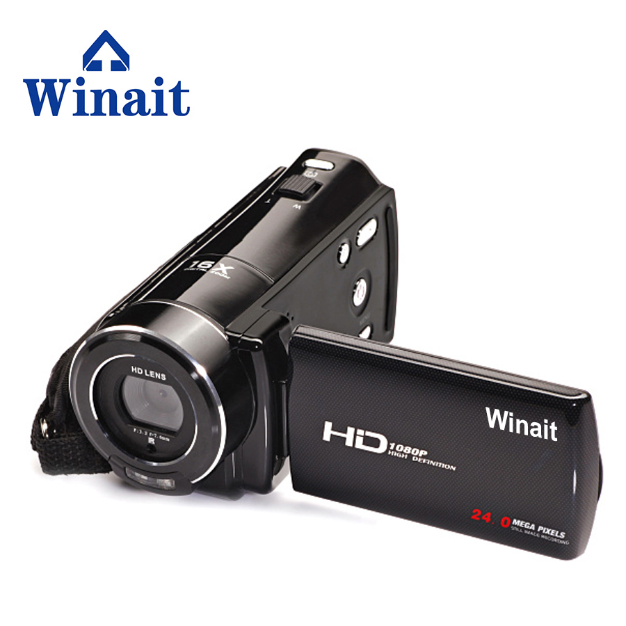 WINAIT  1080P HD Flash Digital Video Camera Li-ion battery Portable DVD 16x Digital Zoom Mini HDV-V7 Remote ControlWINAIT  1080P HD Flash Digital Video Camera Li-ion battery Portable DVD 16x Digital Zoom Mini HDV-V7 Remote Control