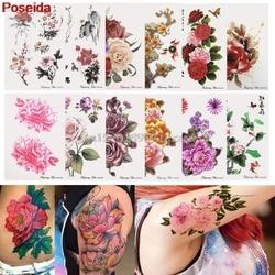 Временные татуировки 12 стилей временные татуировки наклейки водонепроницаемые цветы серии рука поддельные передачи # H027 #