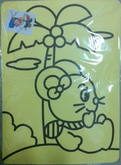 400 шт./лот смешанный degisns_diy цвет рисование песком комплекты для дети