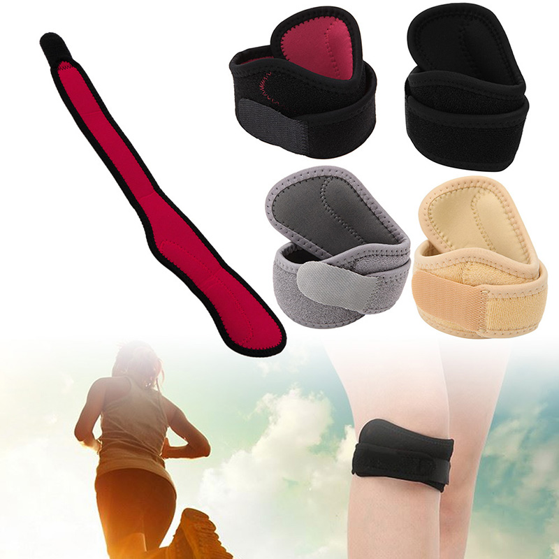 Sport Outdoor Padded Ventilation Knee Pads Patella Support Brace Strap Tendon Band Protector 1PC S11