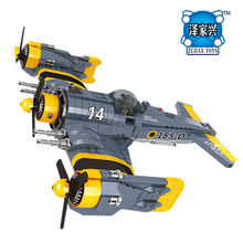 NEW Technical Series The Beautiful Science Fiction Fighting Aircraft Set Lepines Building Blocks Bricks Funny Toys Model Gift