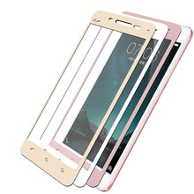 3D Full Tempered Glass For Vivo V3 Full Cover 9H Protective film Screen Protector Glass For Vivo V3 Max V3max Armor film(China)