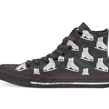 Я бы хотел быть фигурным катанием; дизайн; Повседневная парусиновая обувь; обувь на заказ; Прямая поставка