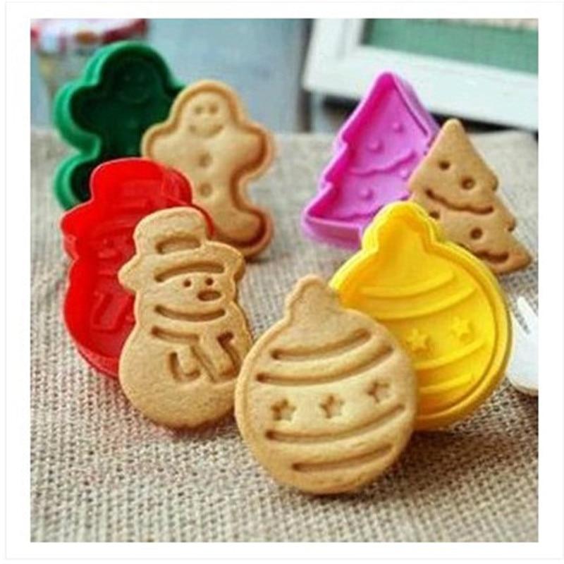 Sugarcraft Cake Decorating And Baking Show : Aliexpress.com : Buy 4Pcs/set Xmas Series Christmas ...