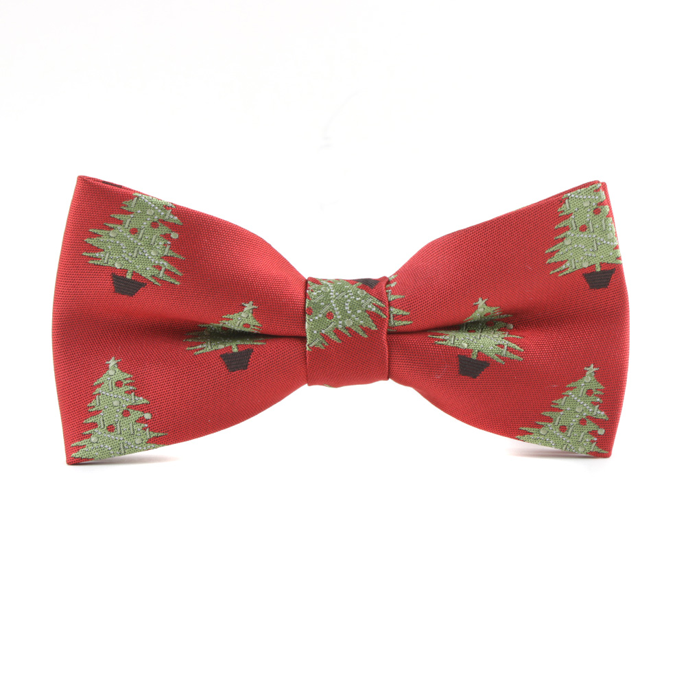Skinny Christmas Bow Ties For Mens Suits Polyester Bowties For Marriage Wedding Adult Neck Ties Chirstmas Gift