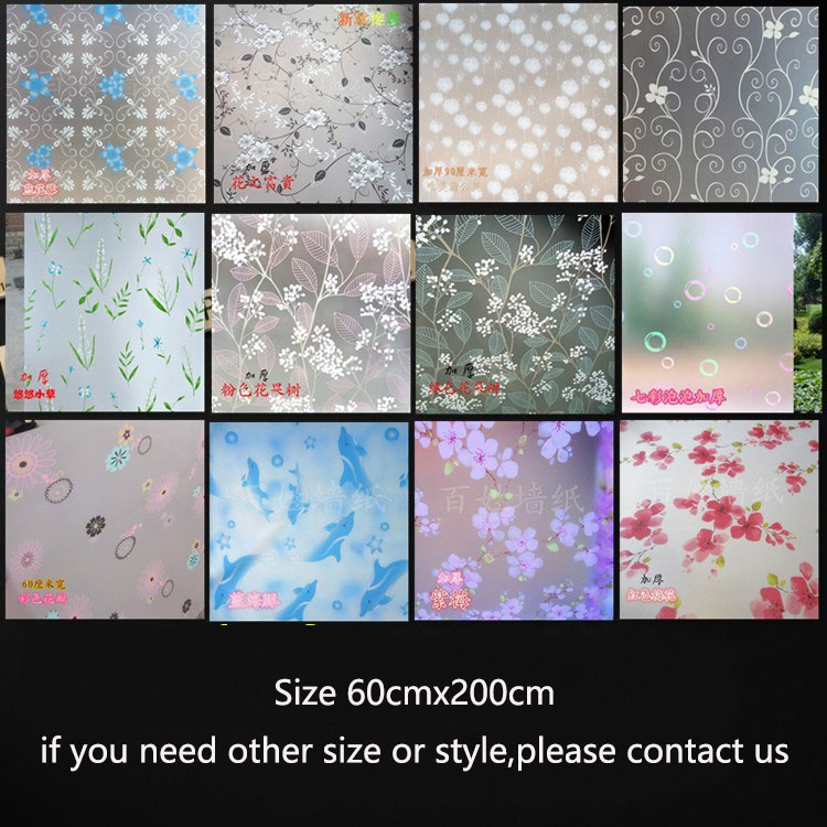 Stick On Stained Glass.Us 7 79 40 Off 2019 Hotsale Colorful Decorative Window Film Self Adhestive Film Vinyl Stained Glass Window Stickers For Christmas 60x200cm In