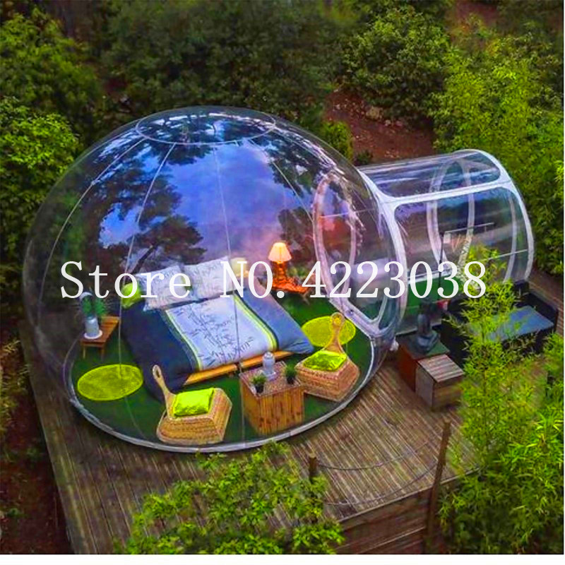2019 Inflatable Bubble Tent House, Sunshine Hotel,Bubble House Outdoor  Camping Tent House,Dome Outdoor Clear Show Room From Sushan87, $916 59 |