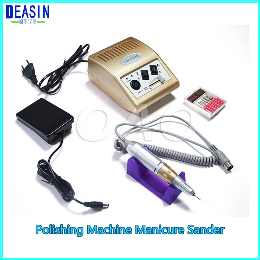 High Quality Nail polishing machine Manicure sander nail polishing instrument electronic nail drill nail manicure machine 1pc white or green polishing paste wax polishing compounds for high lustre finishing on steels hard metals durale quality