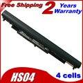 Jigu hs03 hstnn-lb6v 250 240 bateria do portátil para hp g4 245 255 Notebook PC Para Pavilion 15-ac0XX HS04 HSTNN-LB6U 2200 MAH