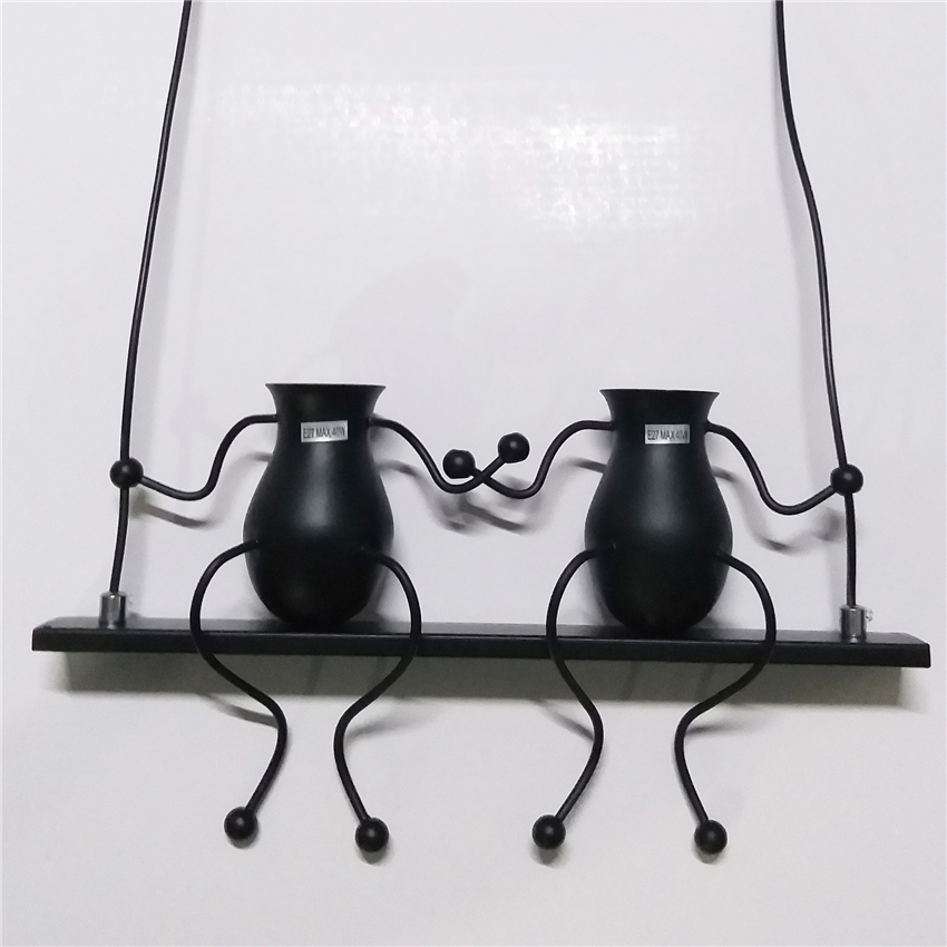 US $31.5 10% OFF Nordic Iron Machine Curs Swing Wall Lamps Retro Living  Room Children\'s Bedroom Decorative Bedside Wall Light Staircase Home  Deco-in ...