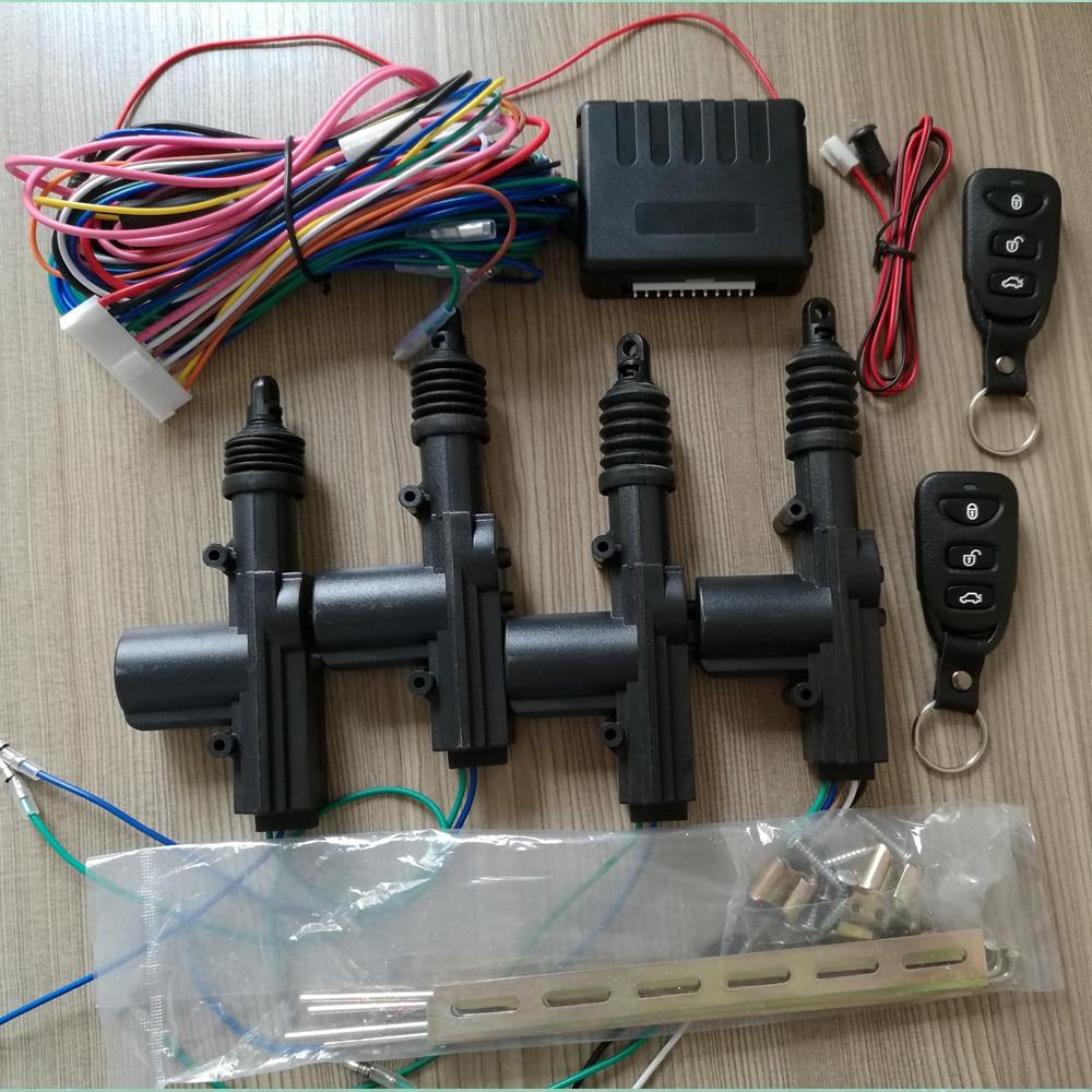 Car Door Unlock Kit >> New Car Styling 2 Master 2 Universal Auto Central Locking Kit Alarm Security System for Car Door ...