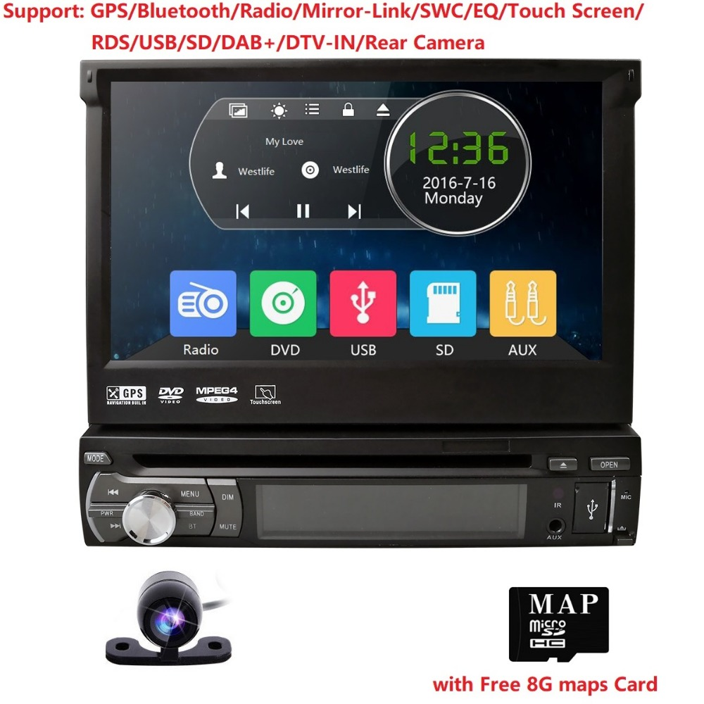 Riprodhuesi automatik i radios 1 automjeti DVD player AMP Radio GPS - Elektronikë e makinave