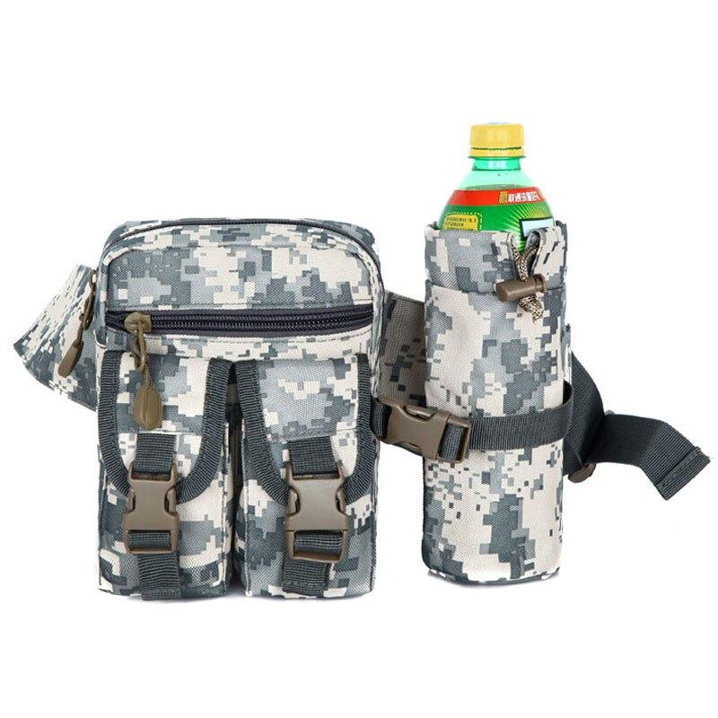 Мужчины камуфляж многофункциональный мобильный телефон сумка портативный езда карман сумки Талия Пакеты