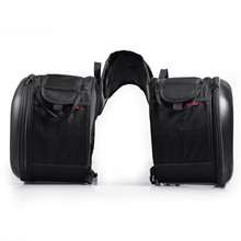 Мотоциклетная Боковая Сумка для шлема, сумка для внедорожника, тяжелая сумка для заднего сиденья мотоцикла для BMW Honda Yamaha, аксессуары для мотоциклов