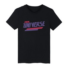 MR. UNIVERSE White Cotton T-shirt ood looking and Durable Men/Women MR. UNIVERSE design T-shirt with High quality
