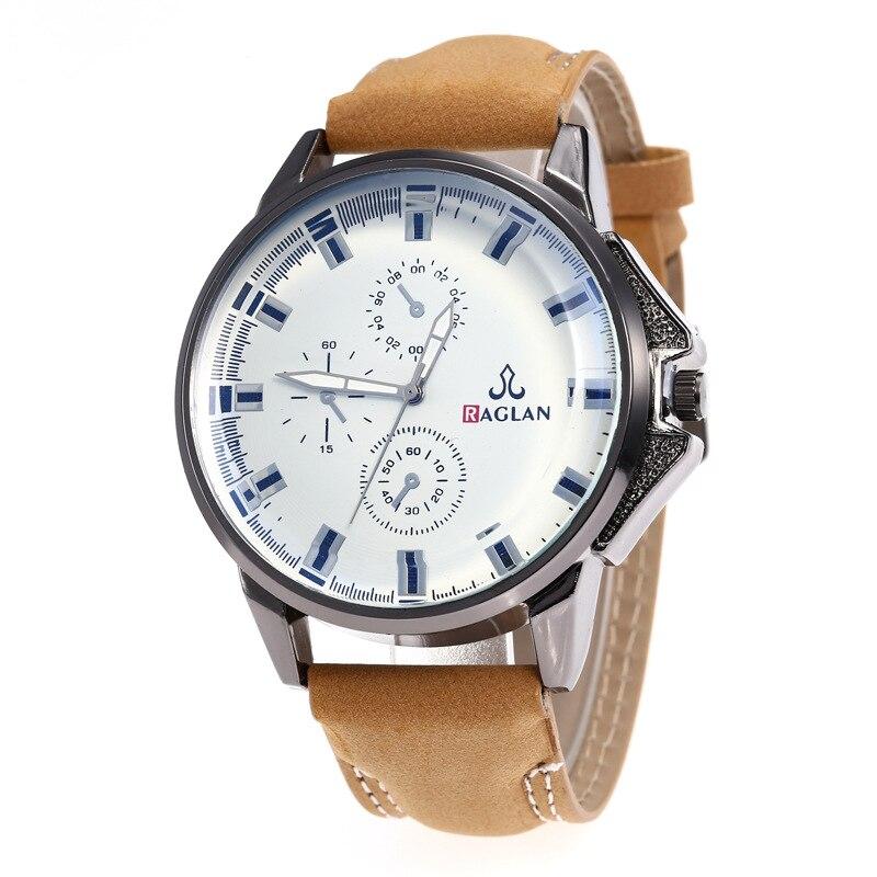 Vervoering Heren Horloges 2019 Sport Quartz Horloge Top Brand Luxe Lederen Band Casual Mannen Horloge Reloj Hombre Mannelijke Klok Elegante Vorm