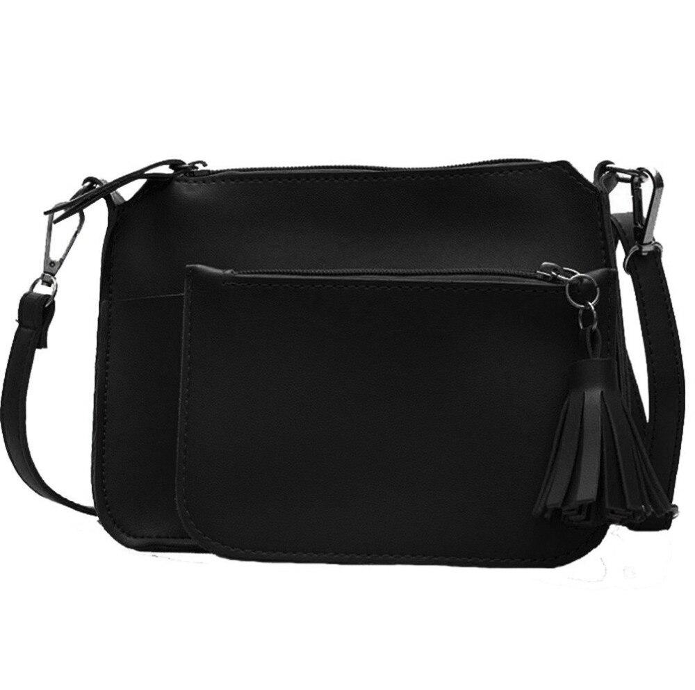 Women Two Piece Bag Top Handle Bags Fashion Messenger Bags Handbag Bag