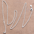 Gifts for Girlfriend 925 Sterling Silver Necklace Fashion Necklaces for Women 2016 Free Shipping Wholesale
