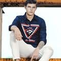 OLRIK 2017 Весной Новый Мужской Рубашка С Длинным Рукавом M-5XL мужская Camisa Masculina Повседневная Тонкий Мужские Рубашки Сорочка Homme