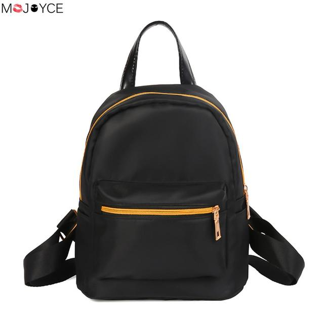 9ead98d83df6 Mini Women Backpack Travel School Bag Waterproof Oxford Canvas Backpack  Girls Shoulder Bags Camouflage Rucks Female Backpack