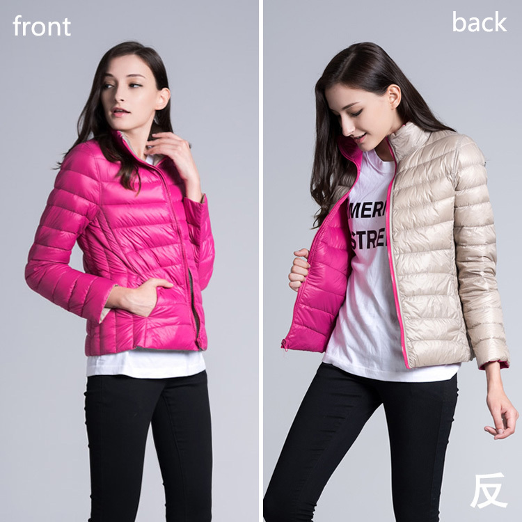 Aliexpress.com : Buy FURANDOWN Winter Womens Two Side White Duck ...