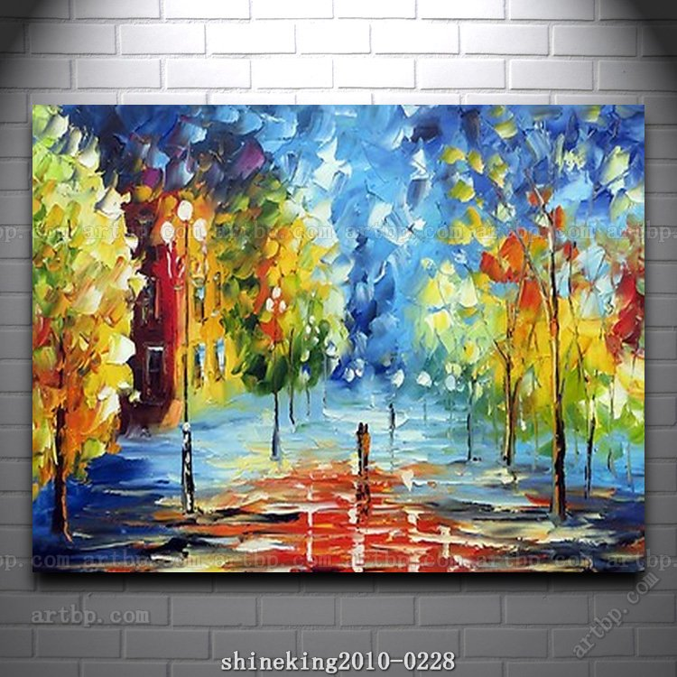 Colorful Palette Knife Oil Painting On Canvas Modern Flower Painting Hall  Decoration Painting Wall Mural Acrylic Paint In Painting U0026 Calligraphy From  Home ... Part 52