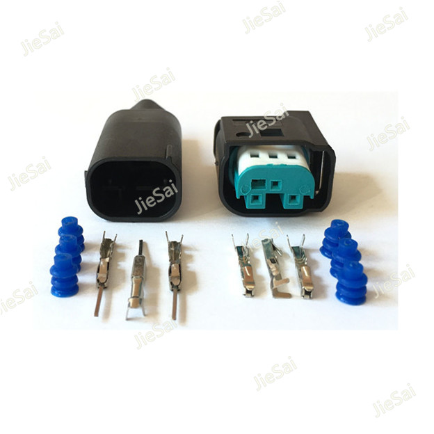 3 Pin 2-967642-1 AMP Wire Connector Female Male Accelerator Pedal Socket Waterproof Electrical Connector For Benz BMW 3 Pin 2-967642-1 AMP Wire Connector Female Male Accelerator Pedal Socket Waterproof Electrical Connector For Benz BMW