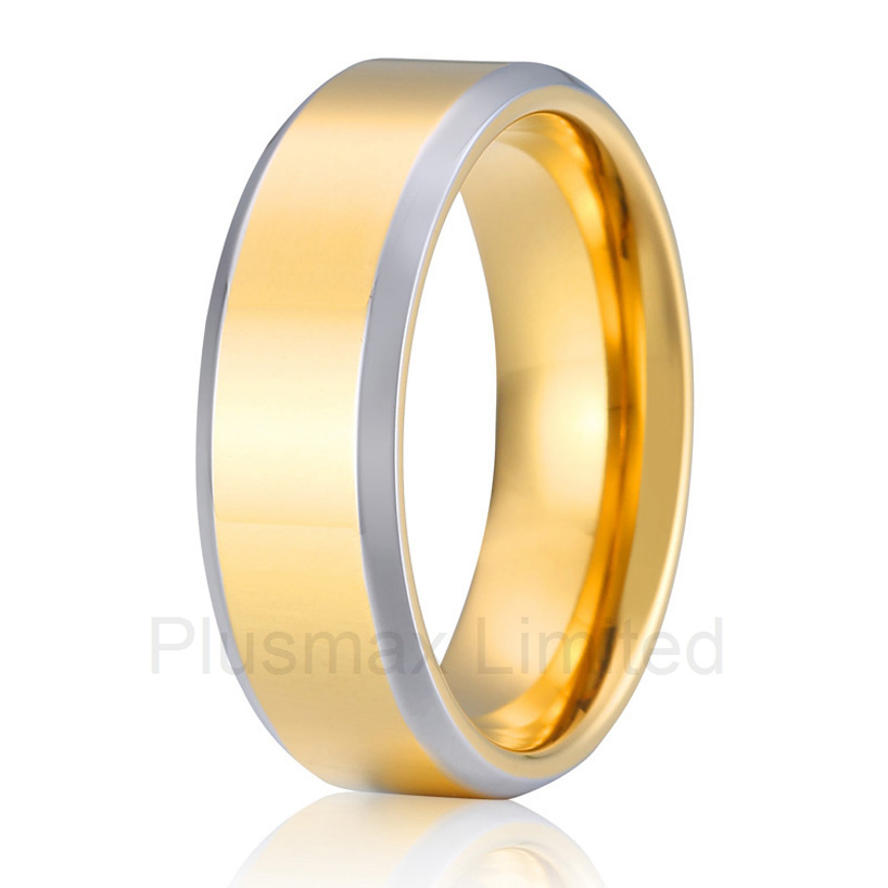 high quality anel ouro titanium jewelry unique anniversary gift for husband 8mm men wedding band rings anel feminino cheap pure titanium jewelry wholesale a lot of new design cheap pure titanium wedding band rings