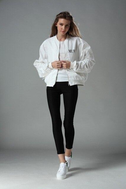 Veste blanche femme printemps