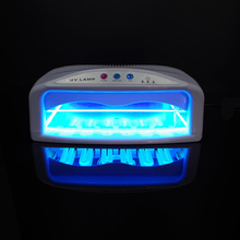 Selfow 54W UV Light Nail Dryer with Timer and Fan Professional Gel Nail Dryer Lamp High Quality UV Light Curing Machine 2 Hands