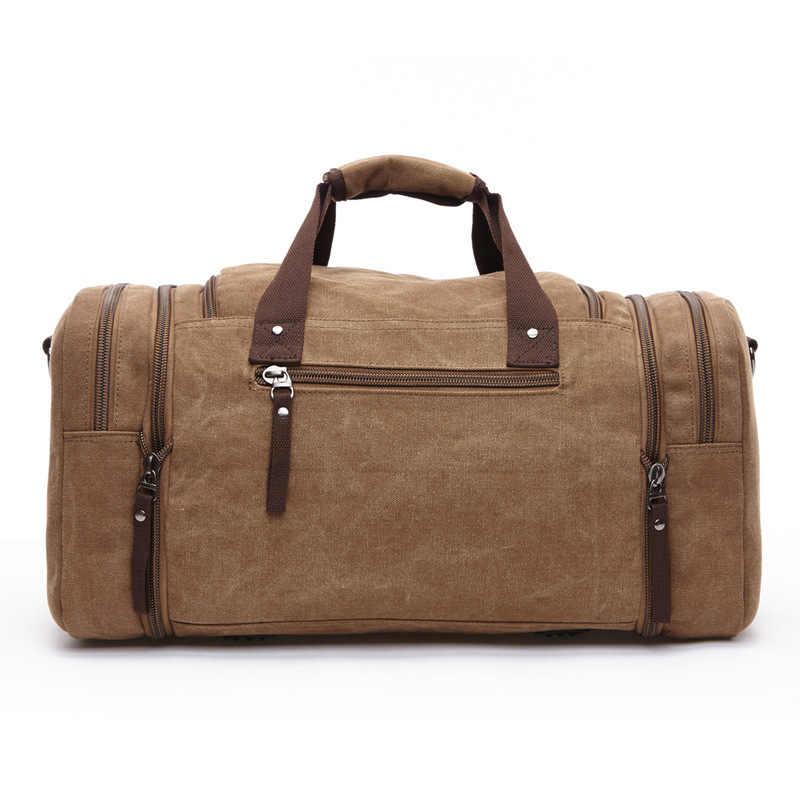 Large Capacity Men Hand Luggage Travel Duffle