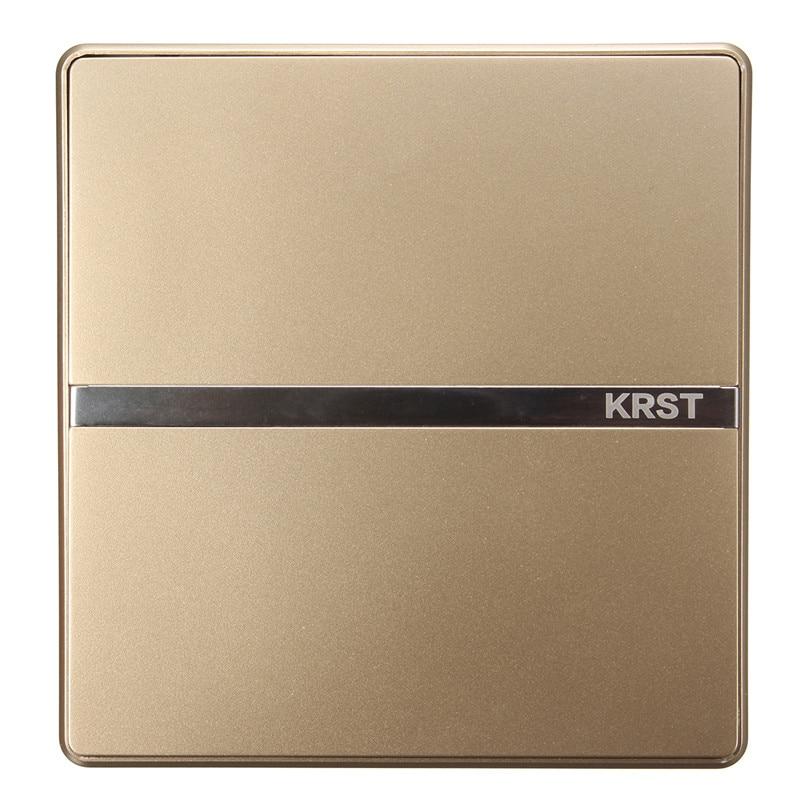 Krst Luxury Led Lighting Switch 1 Gang 1 Way 2 Ways N Ways