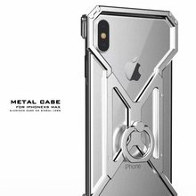 New Metal Bumper For iPhone 7 8 6 6s Plus Ultra Slim Aluminum Shockproof Protective Case X XR XS Max