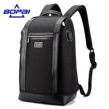 Stylish Waterproof Travel Bag Large Capacity Men Notebook Backpack 14-15.6 Inch Male Mochila Escolar Computer Backpack Bag Men
