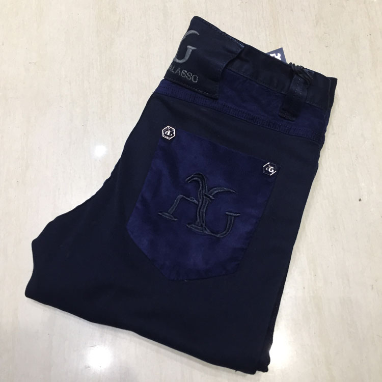 TACE&SHARK jeans men 2018 new style spring commerce comfort high quality geometry pattern leisure male trouser free