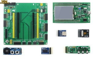 Open429Z-D Package A=ST Original 32F429IDISCOVERY / STM32F429I-DISC1,STM32F429ZIT6 MCU,STM32 board,mbed+Mother Board +7 Modules
