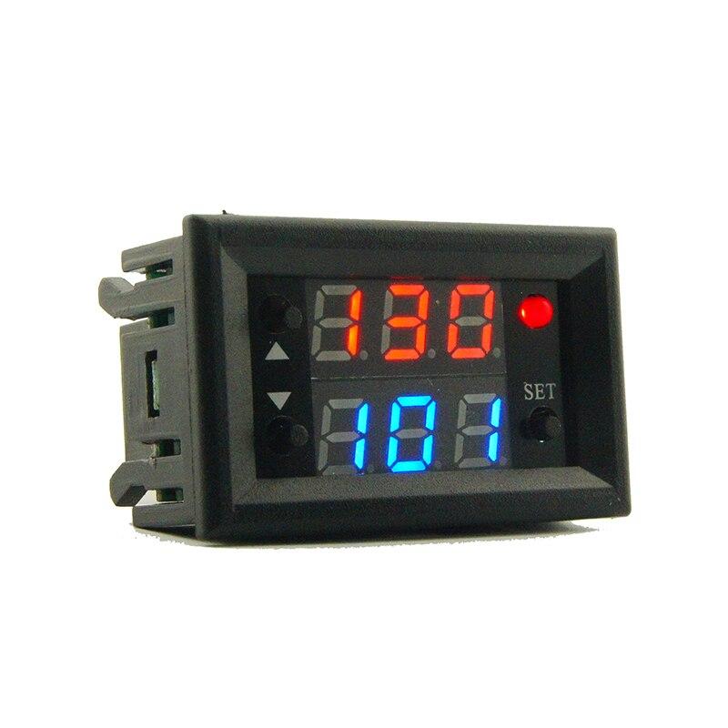 Mini 12v 20a Digital Led Dual Display Timer Relay Module