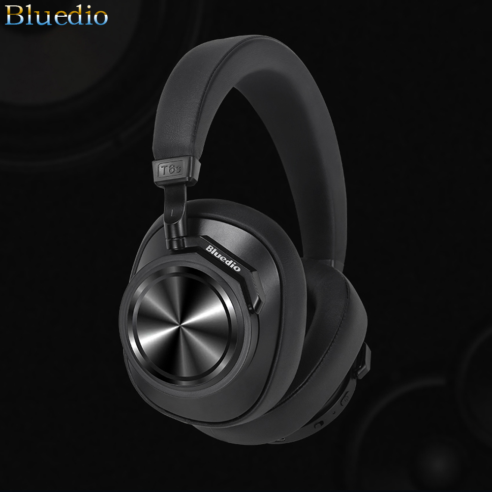 T6s Wireless Bluetooth Headphones Deep Active Noise Cancelling Stereo Music Earbuds Headset phone Earphones auriculares With