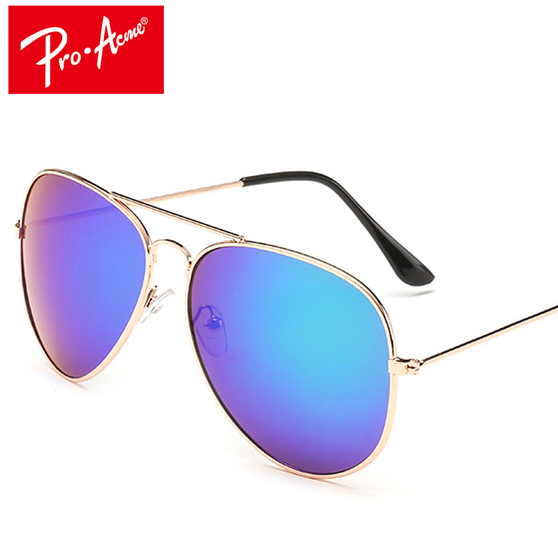 Pro Acme Clássico Da Aviação Óculos De Sol Dos Homens Óculos De Sol Das Mulheres de Condução Espelho óculos de Sol Masculinos Pontos CC0744 Pilot oculos de sol