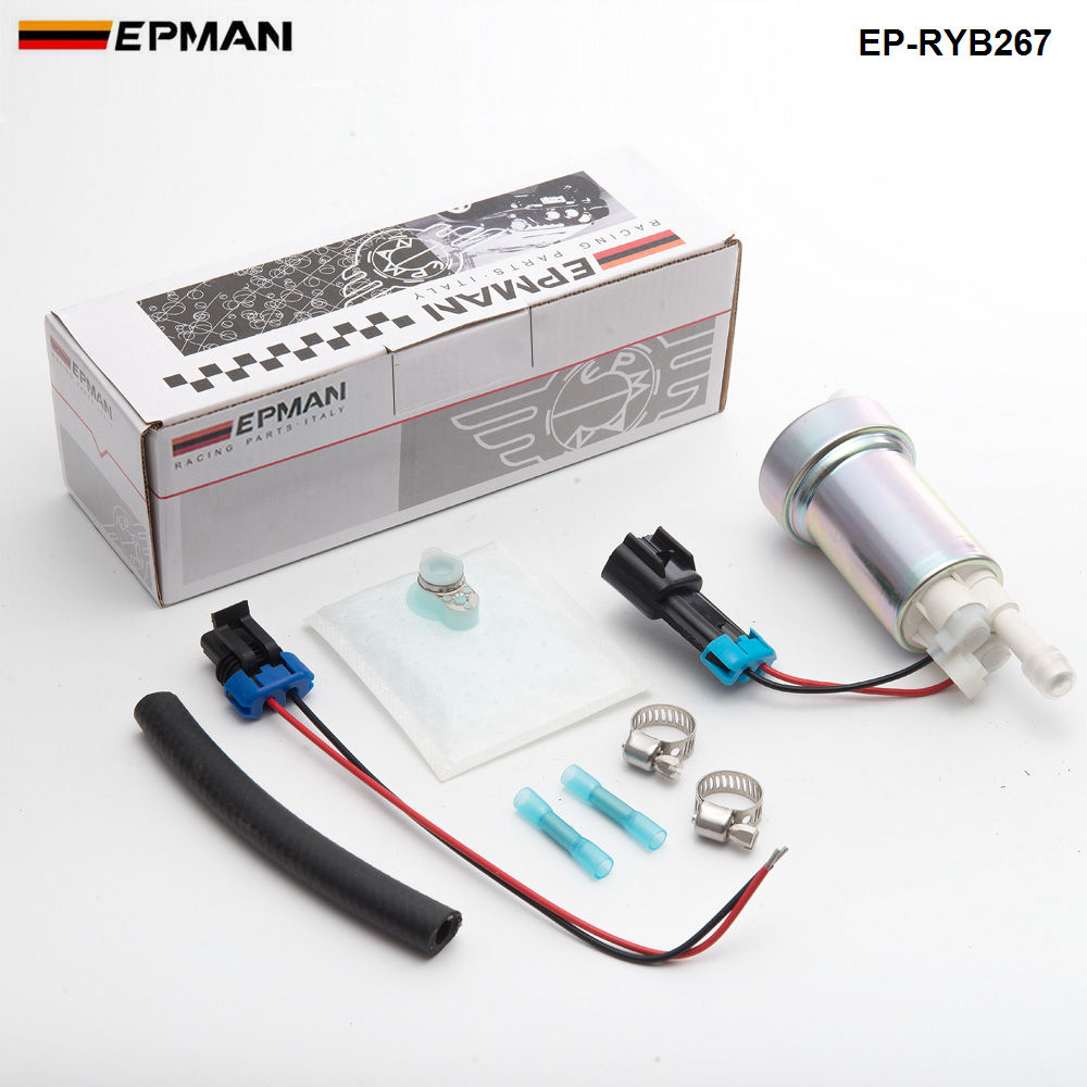 E85 Racing High Performance internal Fuel Pump 450LPH F90000267 Install Kit F90000267 EP RYB267-in Fuel Pumps from Automobiles & Motorcycles    1