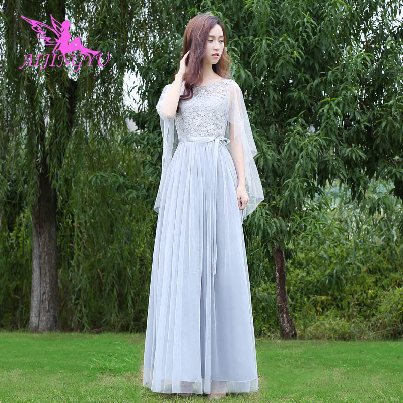 AIJINGYU 2018 Hot Prom Dresses Women's Gown Wedding Party Bridesmaid Dress